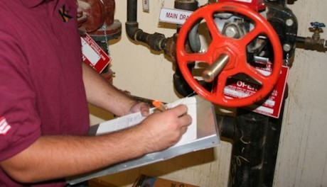 fire protection service documentation
